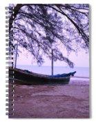 Thai Fishing Boat 04 Spiral Notebook