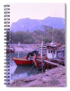 Thai Fishing Boats 05 Spiral Notebook