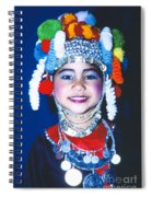 Thai Girl Traditionally Dressed Spiral Notebook