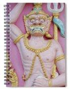 Thai Temple Art I Spiral Notebook