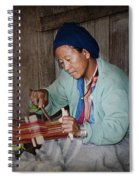 Thai Weaving Tradition Spiral Notebook