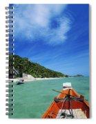 Thailand Boat Spiral Notebook