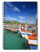 Thailand, Koh Phangan Spiral Notebook