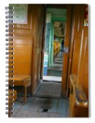 Thailand Train Spiral Notebook
