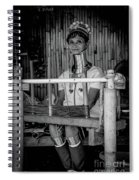 Thailands Long Neck Women Spiral Notebook