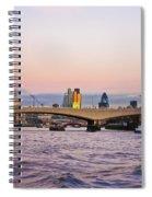 Thames Glow Spiral Notebook