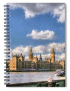 Thames River In London # 3 Spiral Notebook