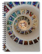 Thanks Giving Chapel Dallas Oil Paint Filter Spiral Notebook