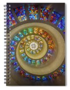 Thanksgiving Chapel Stained Glass Spiral Notebook