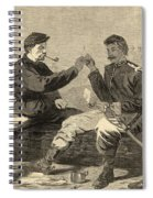 Thanksgiving Day In The Army Spiral Notebook