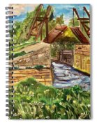 The Langloise Bridge Spiral Notebook