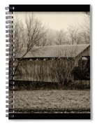 That Old Covered Bridge Spiral Notebook