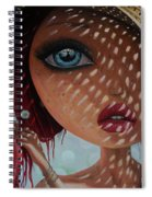 That Perfect Love I Never Had - Oil Painting Spiral Notebook