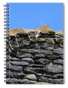 Thatched Cottage Gable Spiral Notebook