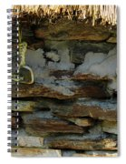 Thatched Roof Ties Spiral Notebook