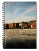 Thawing Saugatuck  Spiral Notebook