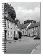 Thaxted Cottages In Black And White Spiral Notebook