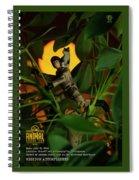 The 1-18 Animal Rescue Team - Cat In Jungle Spiral Notebook