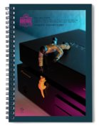 The 1-18 Animal Rescue Team - Cat On Pioneer Blu-ray Player Spiral Notebook