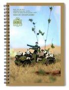 The 1-18 Animal Rescue Team - Pandas On The Savannah Spiral Notebook