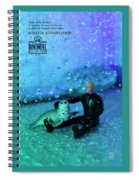 The 1-18 Animal Rescue Team - Seal In Shower Spiral Notebook