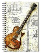 The 1955 Les Paul Custom Spiral Notebook