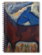 The 1st Mexican Ponies Spiral Notebook