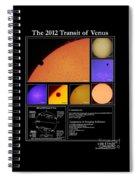 The 2012 Transit Of Venus Spiral Notebook
