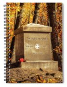 The 20th Maine Spiral Notebook
