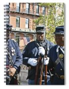 The 54th Regiment Bos2015_185 Spiral Notebook
