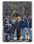 The 54th Regiment Bos2015_191 Spiral Notebook