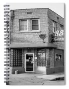 The 88 - Bw Spiral Notebook