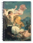 The Abduction Of Deianeira By The Centaur Nessus Spiral Notebook