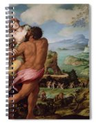 The Abduction Of Proserpine Spiral Notebook