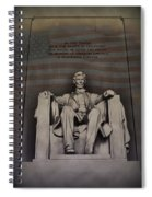 The Abraham Lincoln Memorial Spiral Notebook