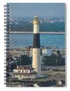 The Absecon Lighthouse In Atlantic City New Jersey Spiral Notebook
