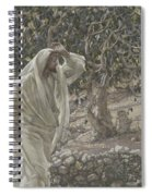 The Accursed Fig Tree Spiral Notebook