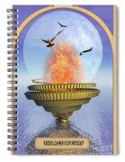 The Ace Of Cups Spiral Notebook