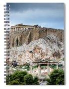 The Acropolis - Athens Greece Spiral Notebook