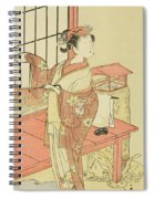 The Actor Segawa Kikunojo II, Possibly As Princess Ayaori In The Play Ima O Sakari Suehiro Genji  Spiral Notebook