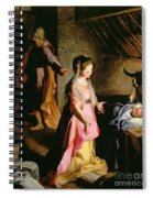 The Adoration Of The Child Spiral Notebook