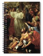 The Adoration Of The Golden Calf Spiral Notebook