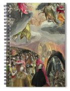 The Adoration Of The Name Of Jesus Spiral Notebook