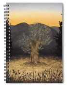 The Adoration Of The Olive Tree Spiral Notebook