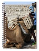 The Afar People  Spiral Notebook