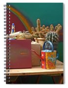 The African Watering Can Spiral Notebook