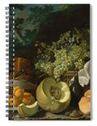 The Afternoon Meal Spiral Notebook
