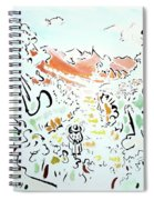 The Afternoon Walk Spiral Notebook