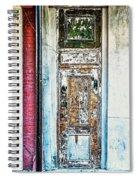The Aged Door Spiral Notebook