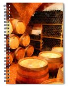 The Aging Room Spiral Notebook